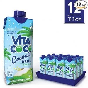 ihocon: Vita Coco Coconut Water, Pure Organic, 11.1 Oz (Pack Of 12) 有機椰子水
