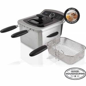 ihocon: Farberware 4L Deep Fryer, Stainless Steel  電油炸鍋