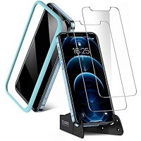 ihocon: CASEKOO Shatterproof Compatible with iPhone 12 Pro Max Screen Protector 屏幕保護貼膜 2個