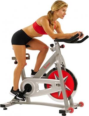ihocon: Sunny Health & Fitness Pro Indoor Cycling Bike  健身自行車