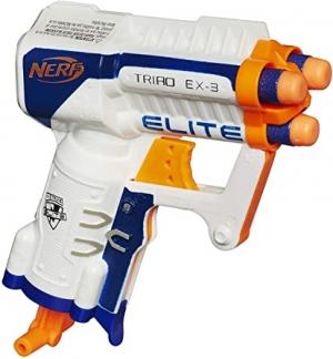 ihocon: NERF N-Strike Elite Triad EX-3 Toy 玩具槍