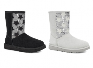 ihocon: UGG CLASSIC Sequin Stars Short Boot 亮片星星短靴