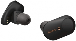 ihocon: Sony WF-1000XM3 Industry Leading Noise Canceling Truly Wireless Earbuds, Black 真無線消噪耳機