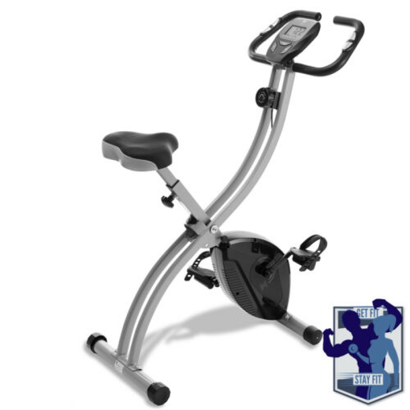 ihocon: Node FitnessFolding Stationary Upright Indoor Cycling Exercise Bike室內健身自行車