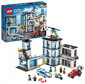 ihocon: LEGO City Police Station 60141 Building Kit with Cop Car, Jail Cell, and Helicopter, Top Toy and Play Set for Boys and Girls (894 Pieces)