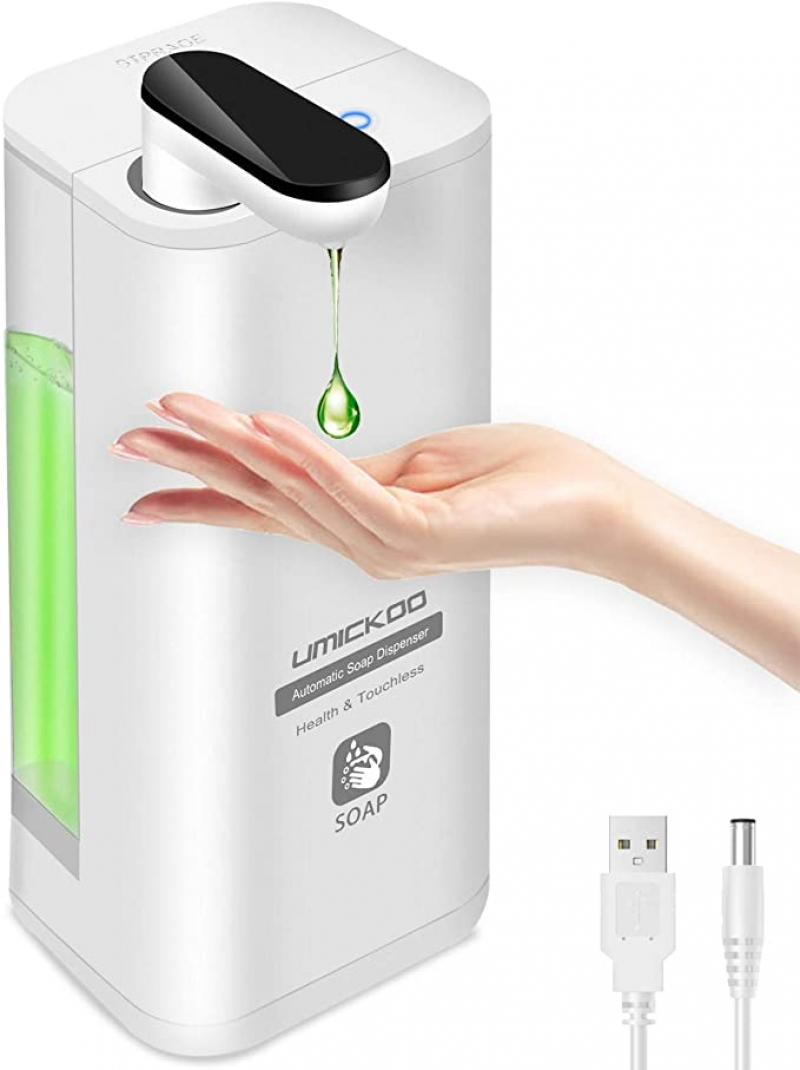 ihocon: UMICKOO Automatic Soap Dispenser,17oz/500ml 自動給皂機