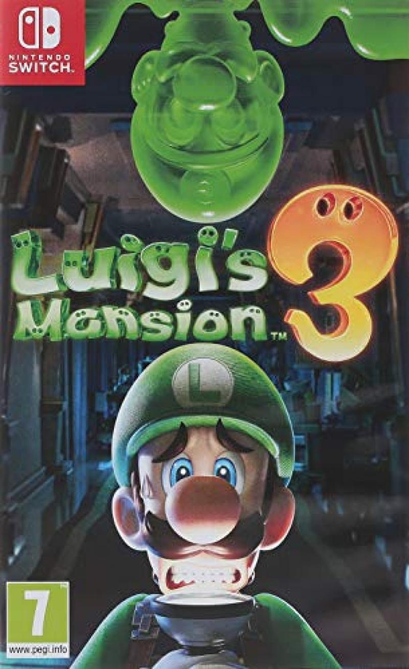 ihocon: Nintendo Switch遊戲 - Luigi's Mansion 3