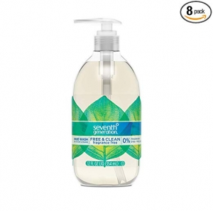 Seventh Generation洗手液皂 8瓶 $17.94免運 (原價$23.92)