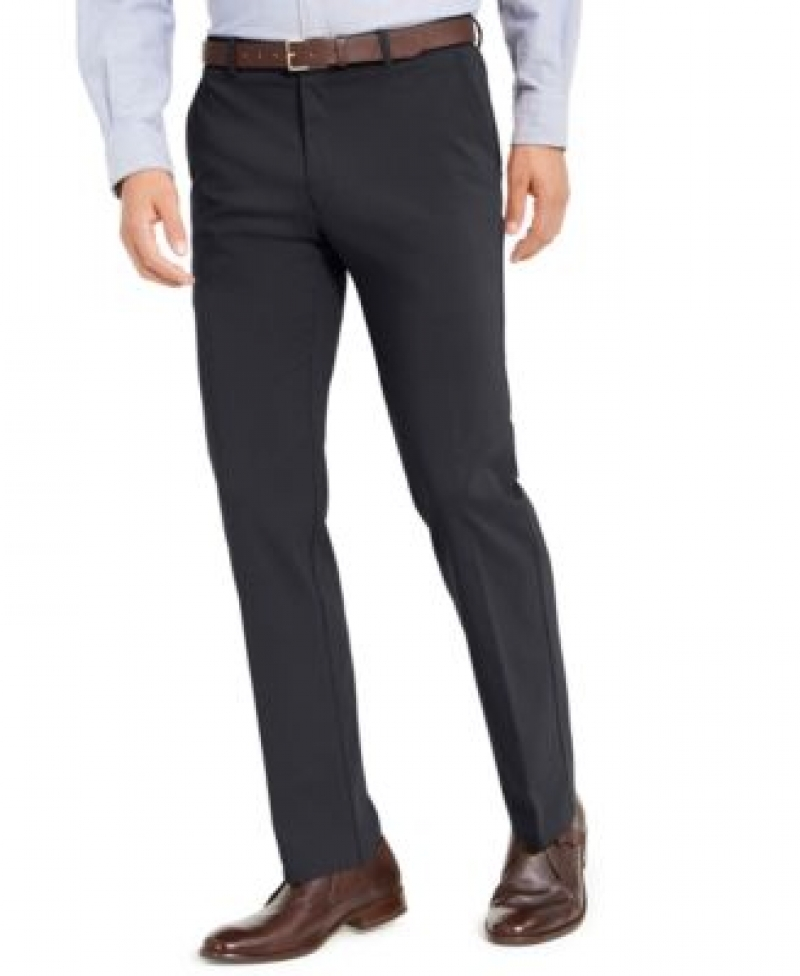 ihocon: Tommy Hilfiger Men's Modern-Fit TH Flex Stretch Comfort Solid Performance Pants  男士長褲-多色可選