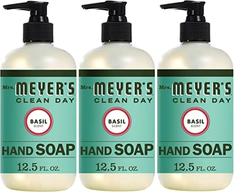 ihocon: Mrs. Meyer's Clean Day Liquid Hand Soap, 12.5-oz, 3-Pack