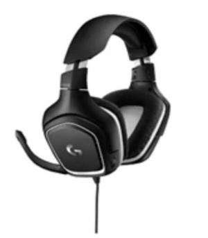 ihocon: Logitech G332 SE 3.5mm Wired Gaming Headphones (White/Black)