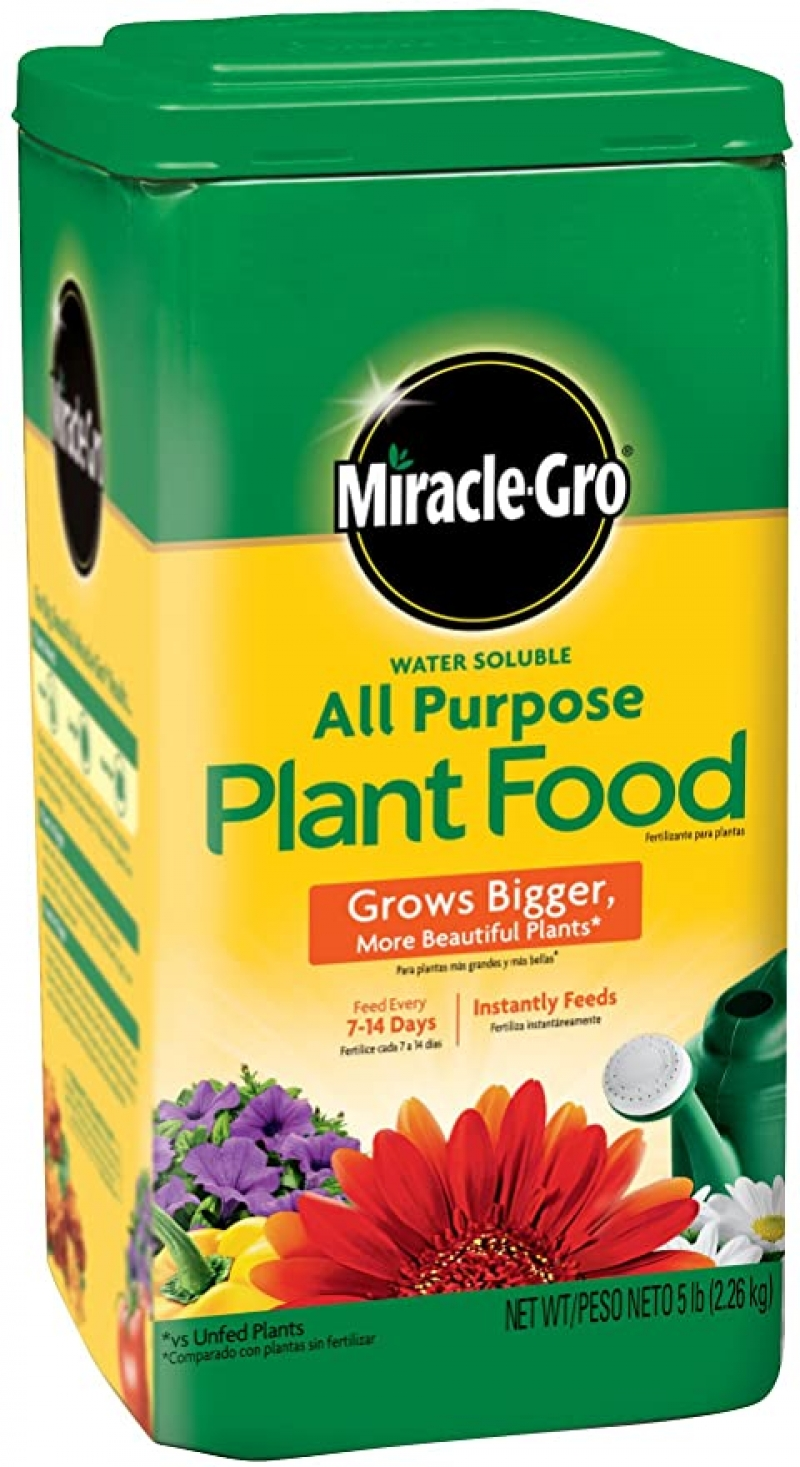 ihocon: Miracle-Gro Water Soluble All Purpose Plant Food, 5 Lbs.萬用水溶性肥料