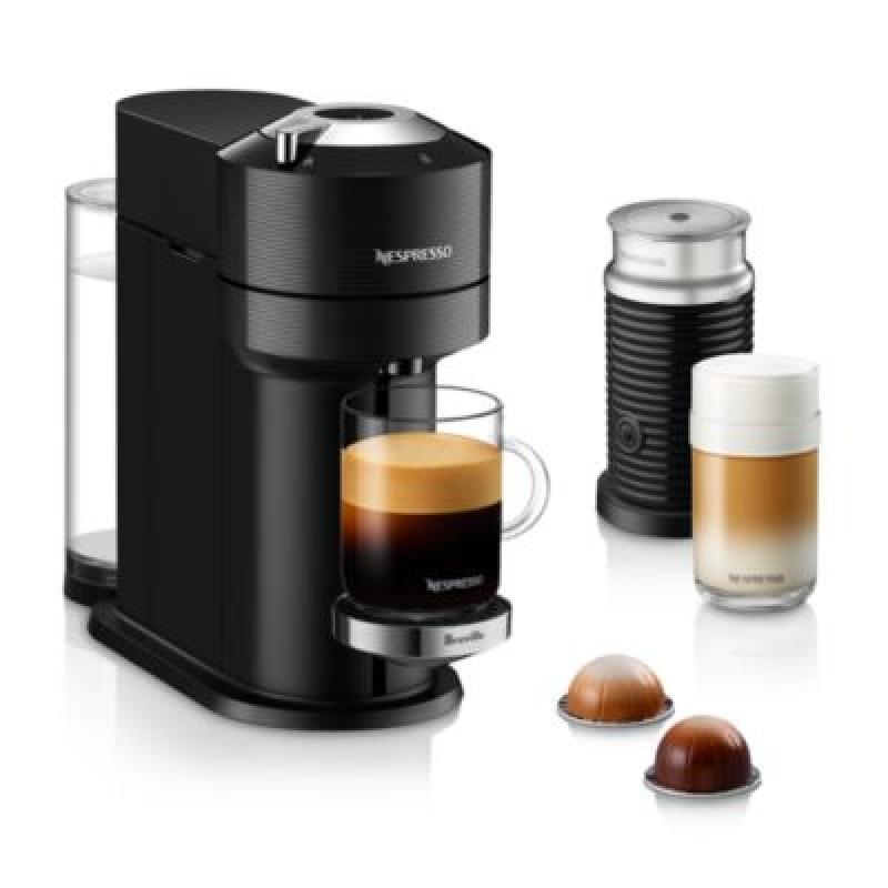 ihocon: Nespresso Vertuo Next Premium by Breville with Aeroccino Milk Frother