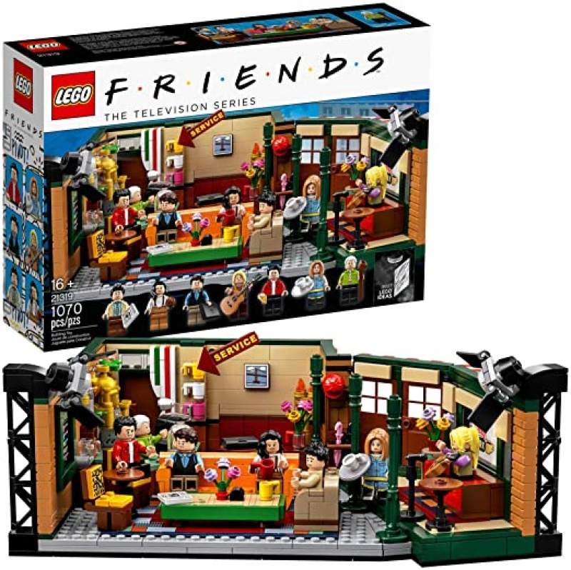 ihocon: LEGO Ideas 21319 Central Perk Building Kit (1,070 Pieces) 六人行中央公園咖啡館