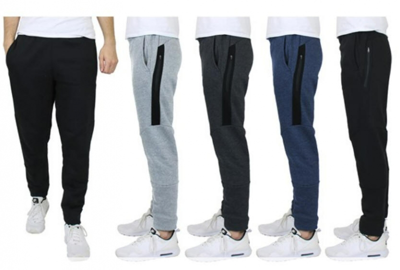 ihocon: GBH Mens Asst Heavyweight Fleece Jogger 3PK 男士運動褲