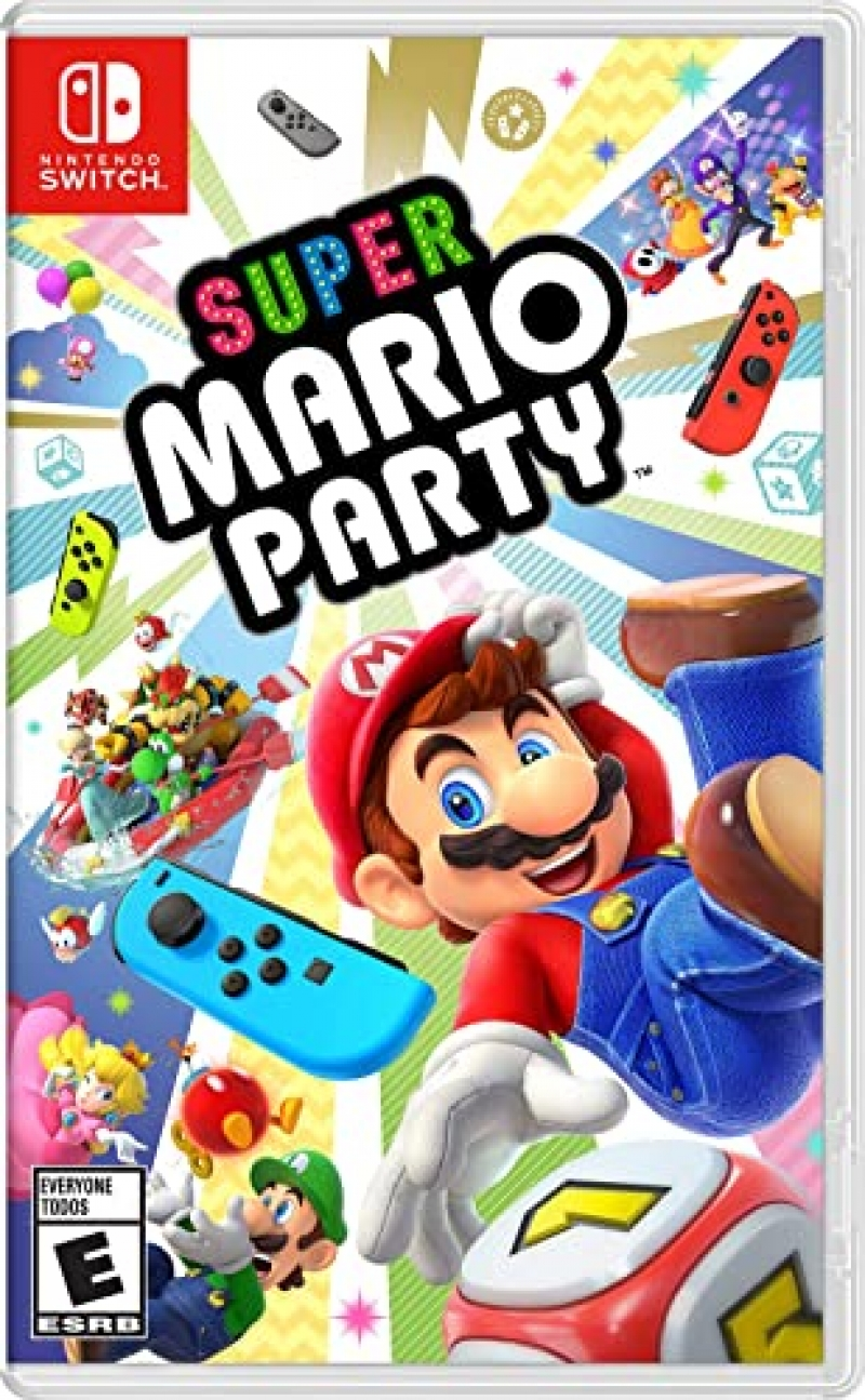 ihocon: Nintendo Switch 遊戲 - Super Mario Party