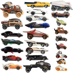 ihocon: Mattel Star Wars Hot Wheels Die Cast Car 12pk 小汽車