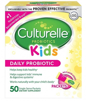 ihocon: Culturelle Kids Daily Probiotic Packets Dietary Supplement, 50 Single Packets 兒童益生菌