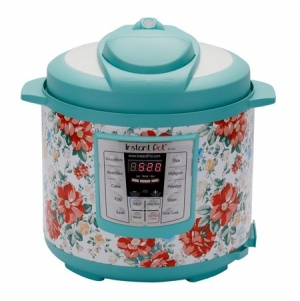 ihocon: Instant Pot LUX60 6 Qt Vintage Floral 6-in-1 Multi-Use Programmable Pressure Cooker電壓力鍋