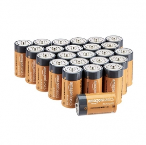 ihocon: AmazonBasics C Cell 1.5 Volt Everyday Alkaline Batteries - Pack of 24 電池