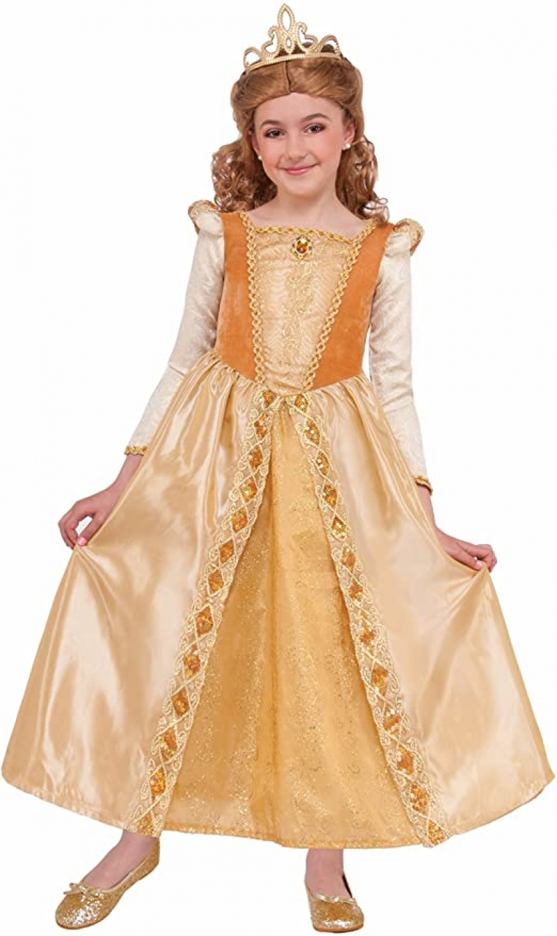 ihocon: Forum Novelties Kids Regal Shimmer Princess Costume, Medium 公主妝扮童裝, size: M
