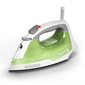 ihocon: BLACK+DECKER Easy Steam Anti-Drip Compact Steam Iron, Green 蒸氣熨斗