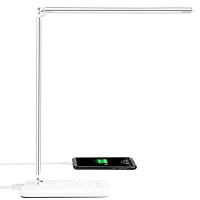 ihocon: MOICO LED Eye-Caring Desk Lamp with 5 Color Modes and 5 Brigh 護眼桌燈