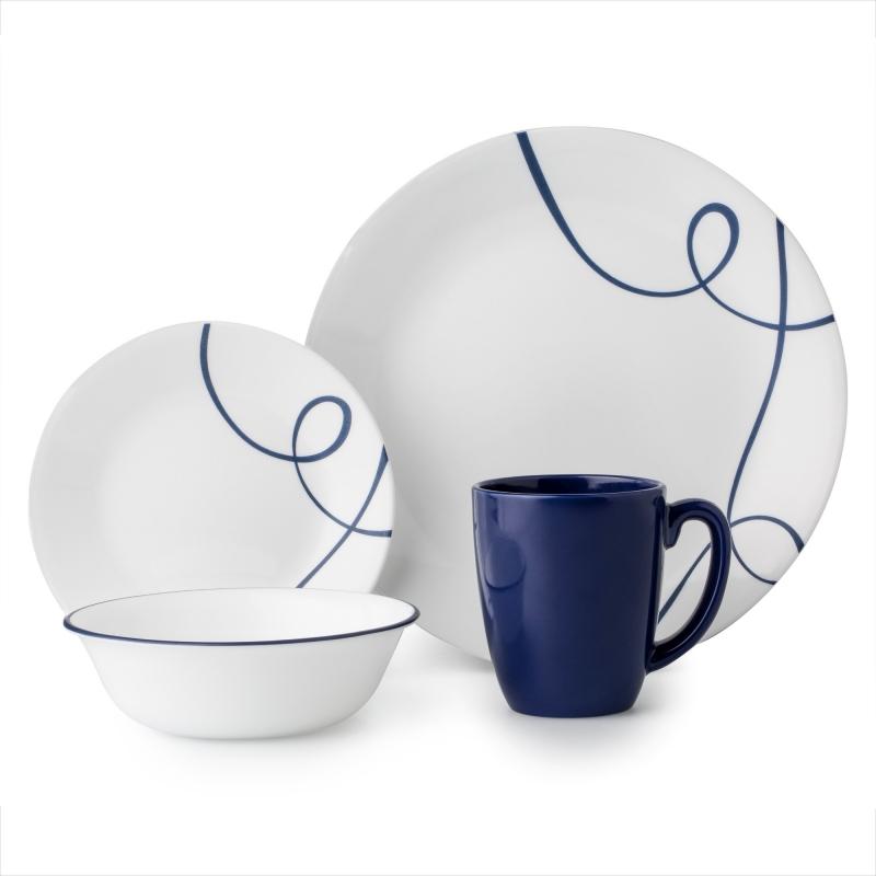 ihocon: Corelle Corelle Classic Lia 16-piece Dinnerware Set康寧餐盤組