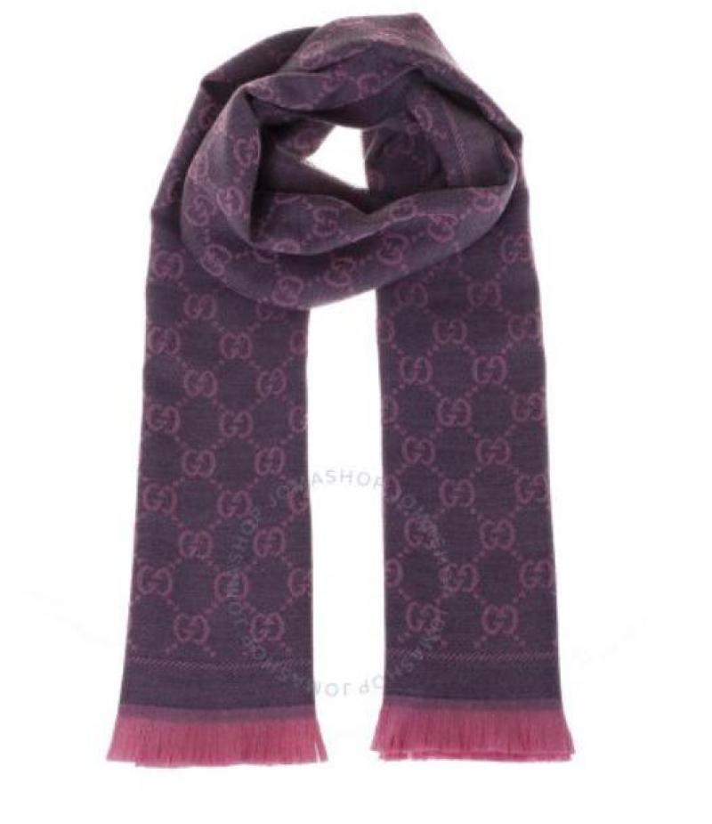 ihocon: Gucci GG Jacquard Pattern Knit Scarf 圍巾