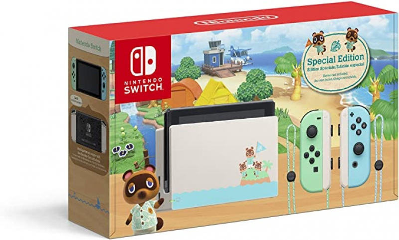 ihocon: Nintendo Switch - Animal Crossing: New Horizons Edition(動物之森版)