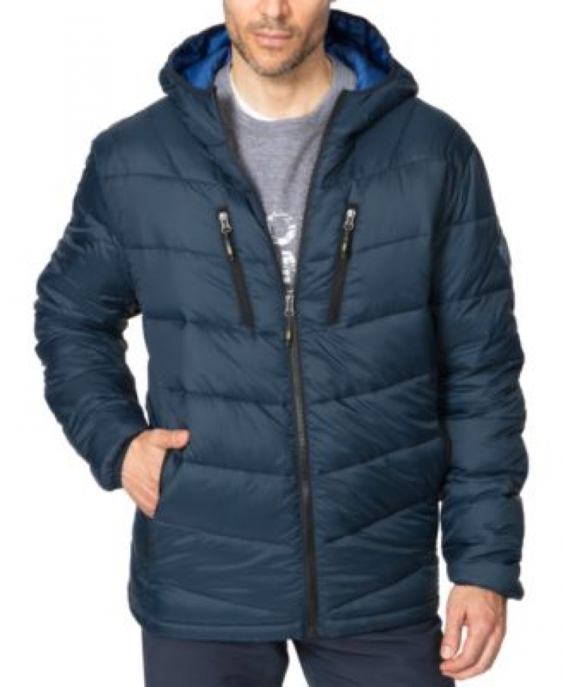 ihocon: Hawke & Co. Outfitter Men's Packable Chevron Parka 男士連帽夾克-多色可選