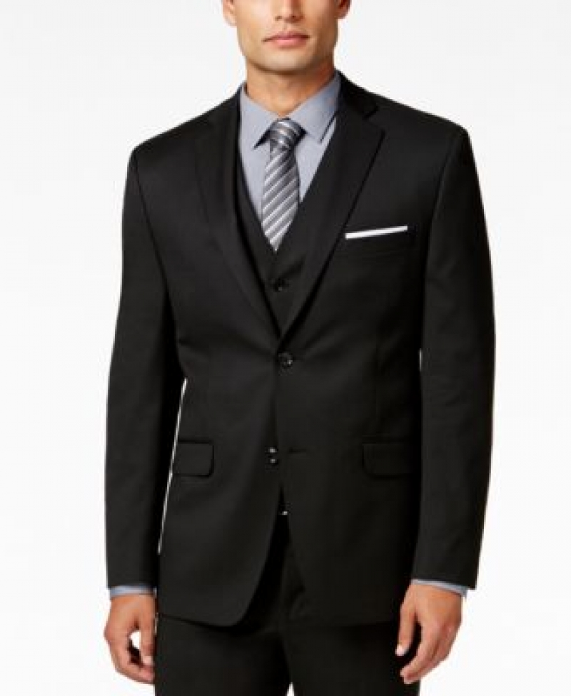ihocon: Alfani Men's Stretch Performance Slim-Fit Jacket男士西裝外套