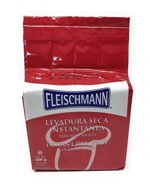 ihocon: Fleischmann Instant Dry Yeast - for Savory Dough - 1 ct - 15.9 oz 酵母粉