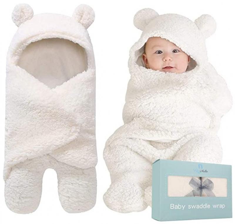 ihocon: Bluemello Swaddle Blanket 嬰兒毛毛包毯