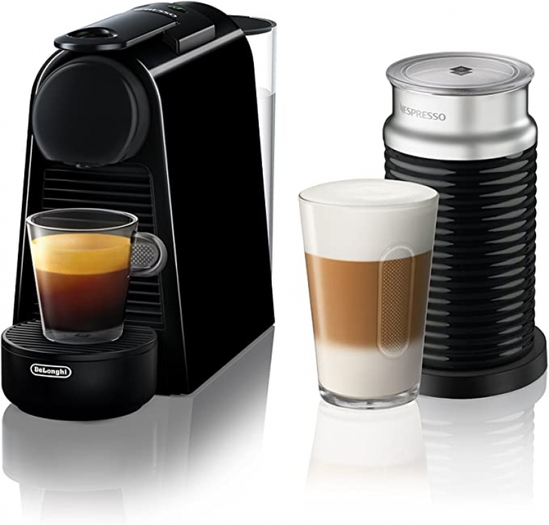 ihocon: Nespresso Essenza Mini Original Espresso Machine with Aeroccino Milk Frother Bundle by De'Longhi義式膠囊咖啡機及奶泡機