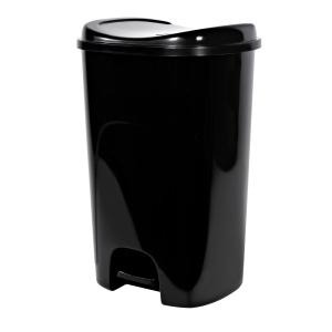 Hefty 13-Gallon 腳踏式垃圾桶 $13.50(原價$16.99)