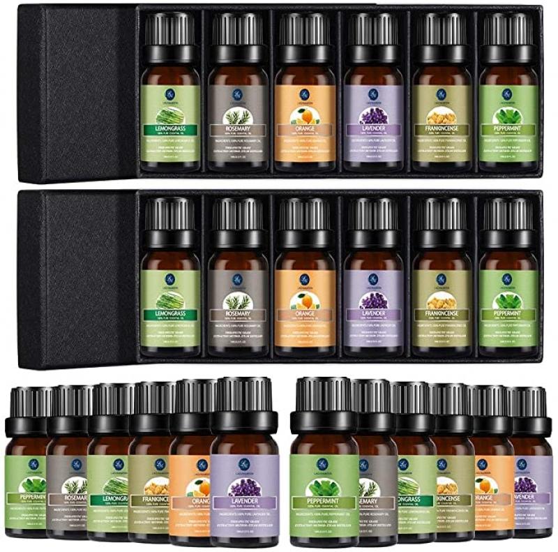 ihocon: Lagunamoon Essential Oil Top 6 Gift Set (2 Pack) 精油禮盒2組(1組6瓶)