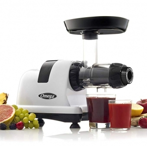 ihocon: Omega J8006HDS 200-Watt Quiet Dual-Stage Slow Speed Masticating Juicer (Silver)慢磨榨汁機
