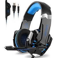 ihocon: Kotion Each G9000 Gaming Headset Headphones 3.5mm Stereo Jack with Mic 遊戲耳機