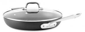 ihocon: All-Clad Hard Anodized Nonstick 12 Fry Pan with Lid 含蓋不沾鍋