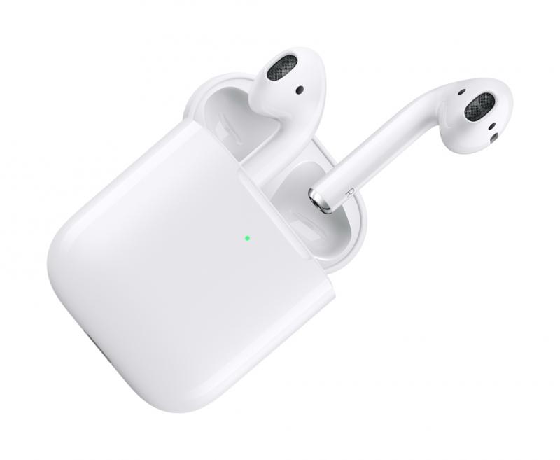 [超讚] Apple AirPods含無線充電盒 $108(原價$169)