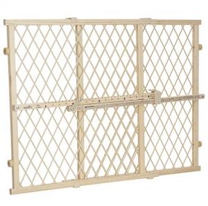 ihocon: Evenflo Position and Lock Wood Gate 兒童安全門