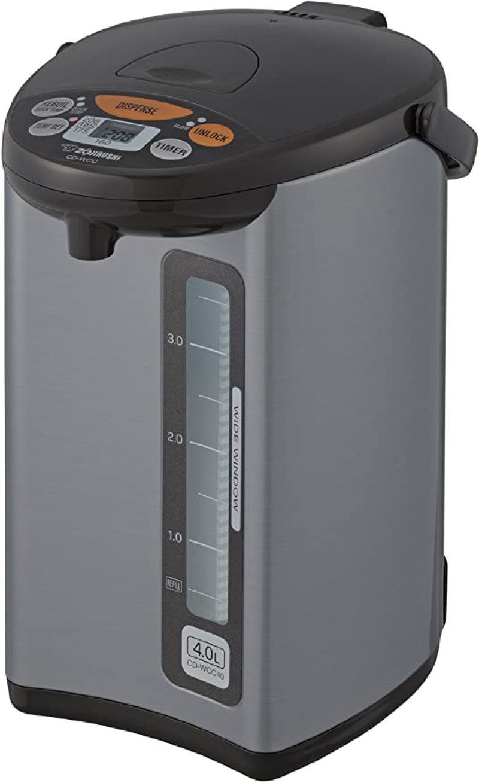 ihocon: Zojirushi Micom Water Boiler & Warmer, 135 oz. / 4.0 Liters 象印電熱水瓶