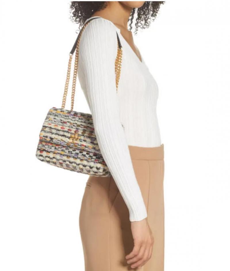 ihocon: TORY BURCH Small Kira Tweed Convertible Crossbody Bag  包包