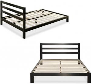 ihocon: Zinus Arnav Modern Studio 10 Inch Platform 2000H Metal Bed Frame, Queen 床架