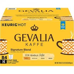 GEVALIA K-CUP 咖啡膠囊 84個 $29.38免運