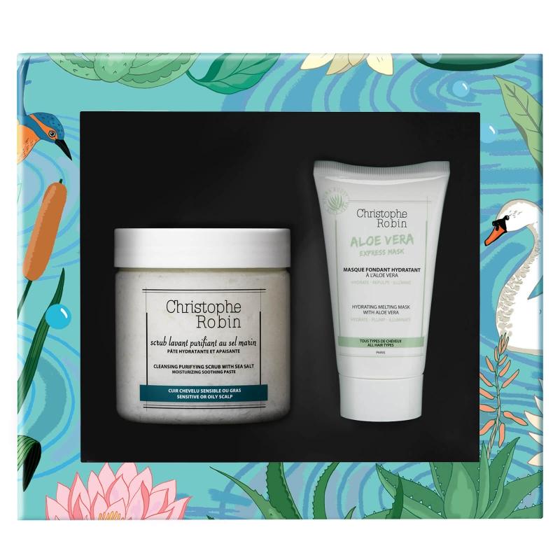 ihocon: Christophe Robin Healthy Glow Gift Set (價值$70) 護髮套裝