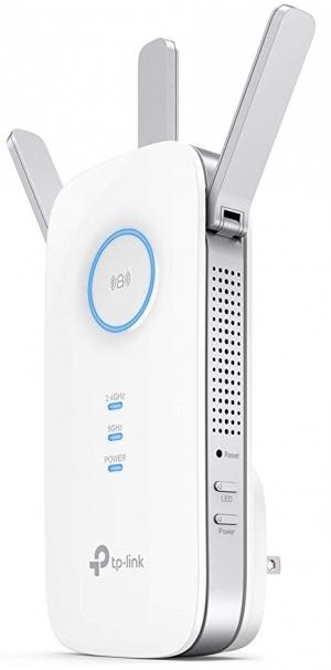 ihocon: TP-Link RE450 AC1750 Wireless Range Extender with Gigabit Ethernet (White)無線網路訊號增強器
