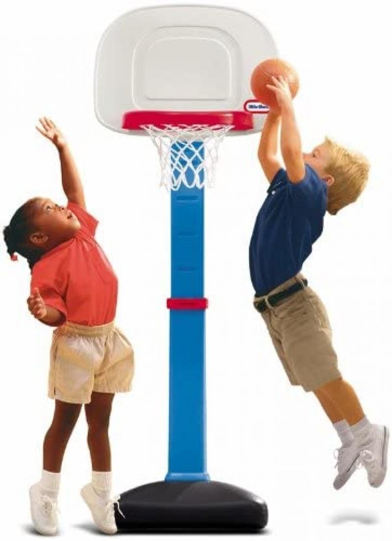 ihocon: Little Tikes EasyScore Basketball Set 兒童籃框+球