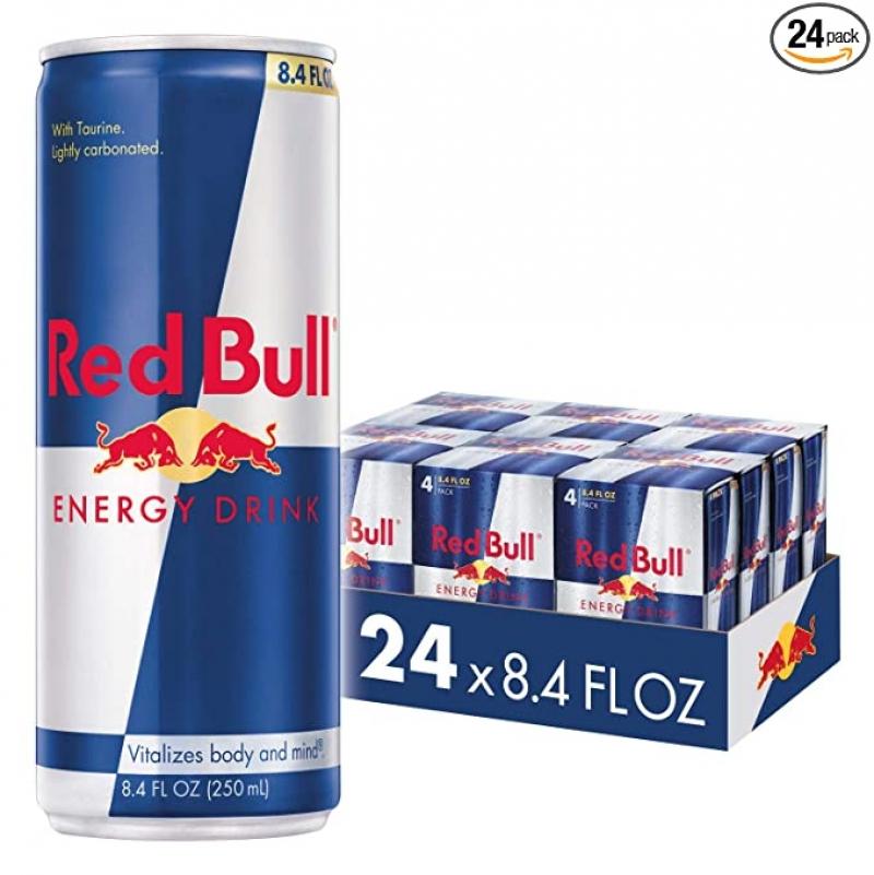 ihocon: Red Bull Energy Drink, 8.4 Fl Oz (24 Count) 紅牛能量飲料